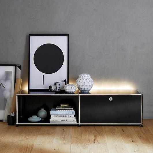 Sideboard and Closed Shelves - Haller E / USM