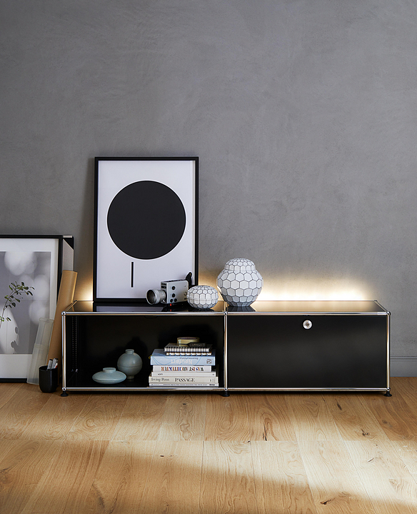 Sideboard and Closed Shelves - Haller E