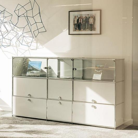 Display and Drawers - Haller Showcase / USM