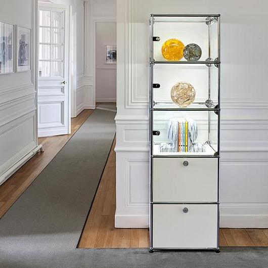 Cabinet and Shelves - Haller E