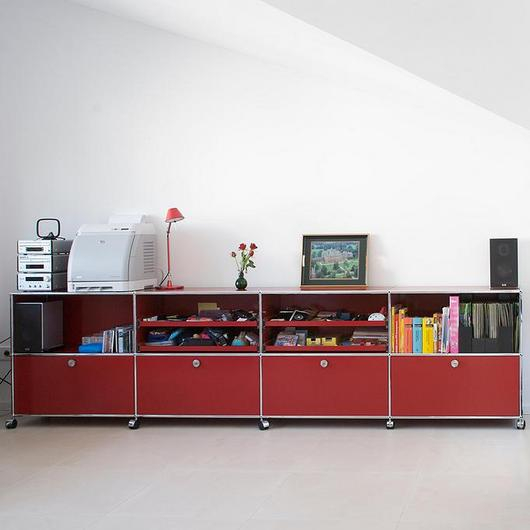 Sideboard and Closed Shelves - Haller / USM