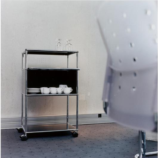 Serving Cart and Shelves - Haller / USM