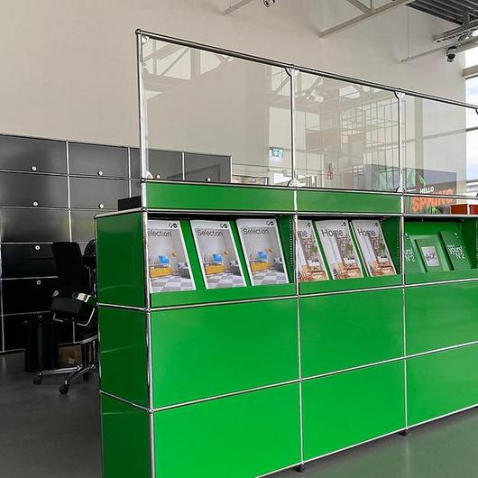 Reception Display and Protection - Haller