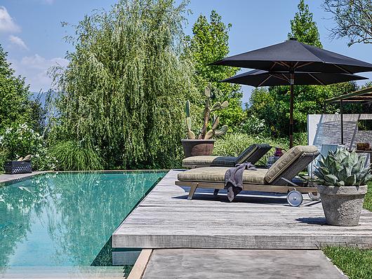 Flexform | Villa Aghe | Photo: Matteo Imbriani | Hora Sexta Daybed