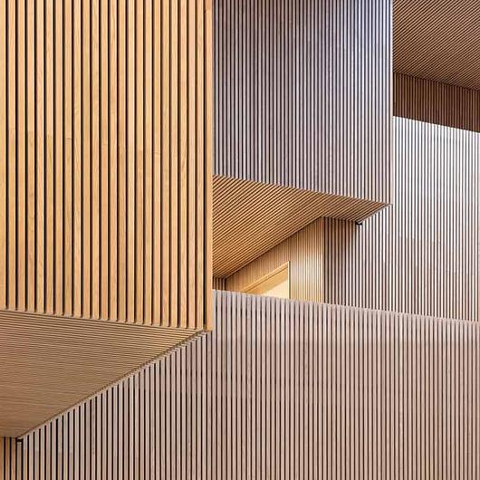 Wellness With Timber  in Technical University of Denmark / Gustafs