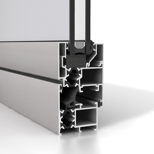 Ventana de aluminio Strugal S45RP