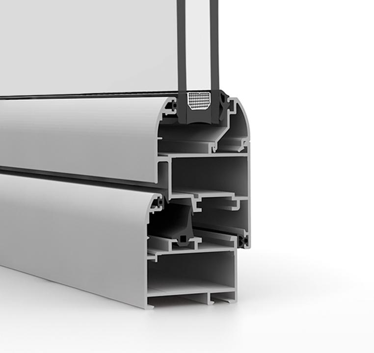 Sistema para ventanas y puertas Strugal S46