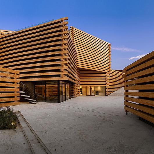 Jansen Façade in Odunpazari Modern Museum (OMM)