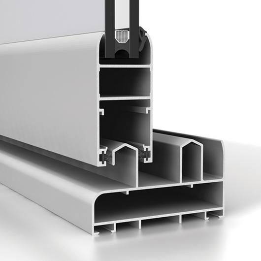 Corredera de aluminio Strugal S90P