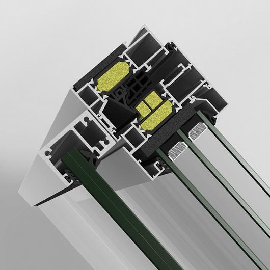 Sistema de barandilla Strugal Invisible Glass Line / Strugal