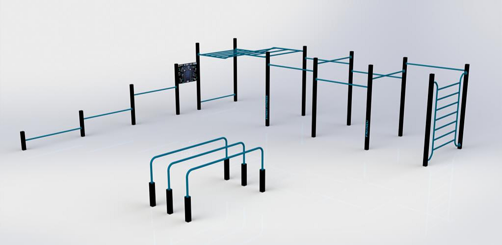 Equipamiento deportivo Street Fitness - SF-0001