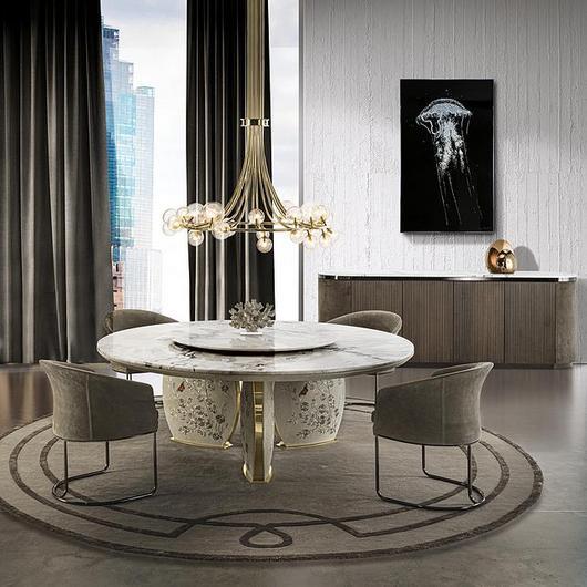 Dining Table - Lotus Circle / Longhi