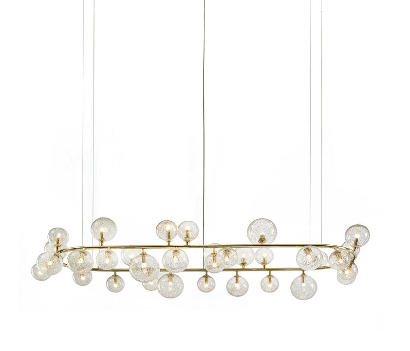 Hanging Lights - Rialto Circle