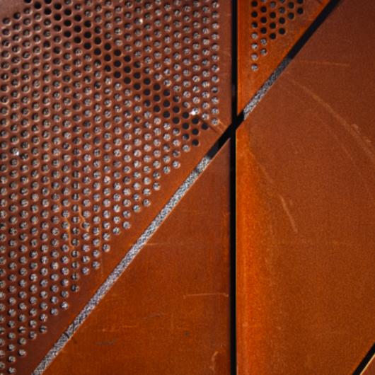 Revestimiento Para Fachadas Corten Steel Metal Experts De