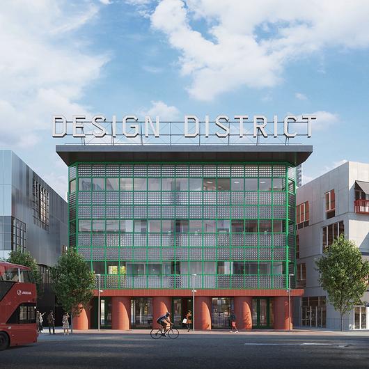 Façade Fire Weatherproofing Solutions in Design District Project London / Effisus