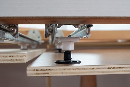Fixador com parafuso para painéis pesados - PC-SVMX | Fastmount