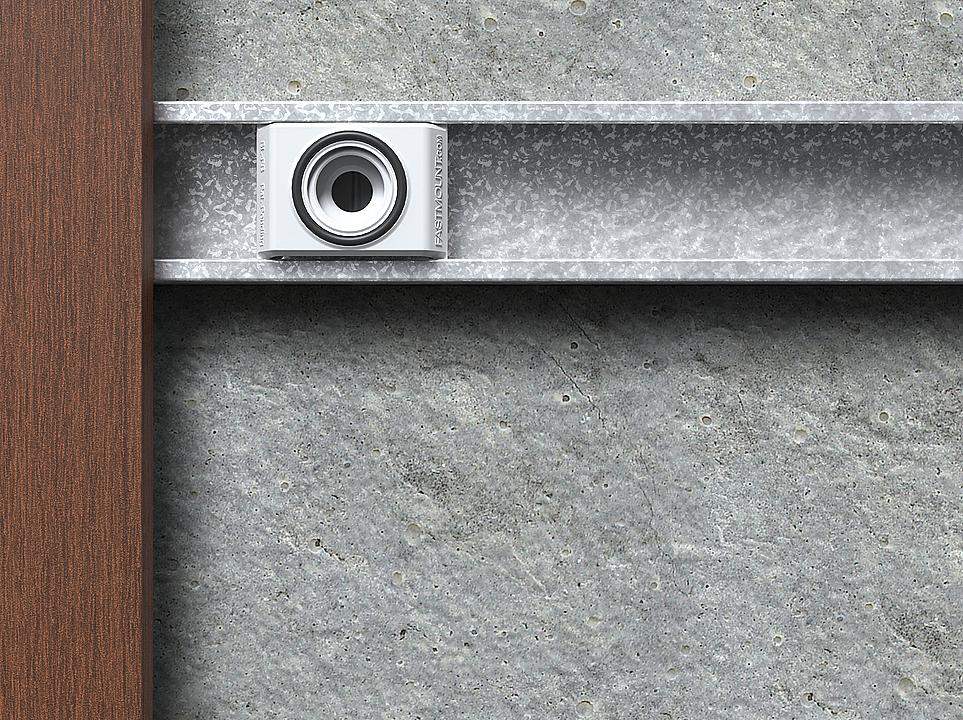 Fixador para painéis grandes - Linha Stratlock