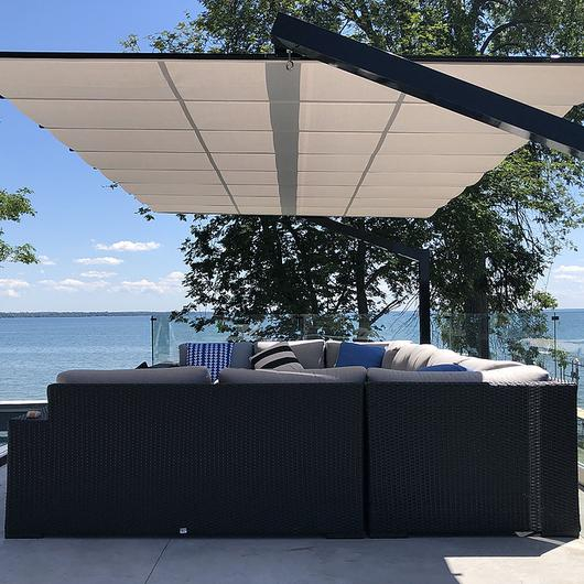 Shade Structure – Freestanding Canopy in Lake Simcoe / ShadeFX