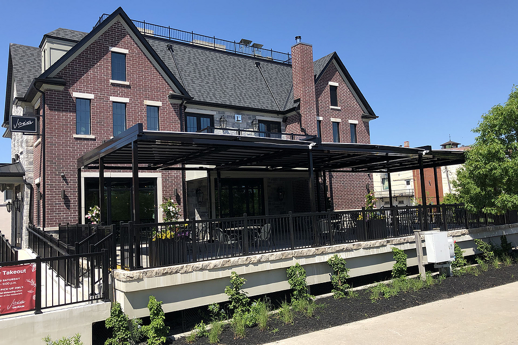Outdoor Roofs– Joia on Main Restaurant