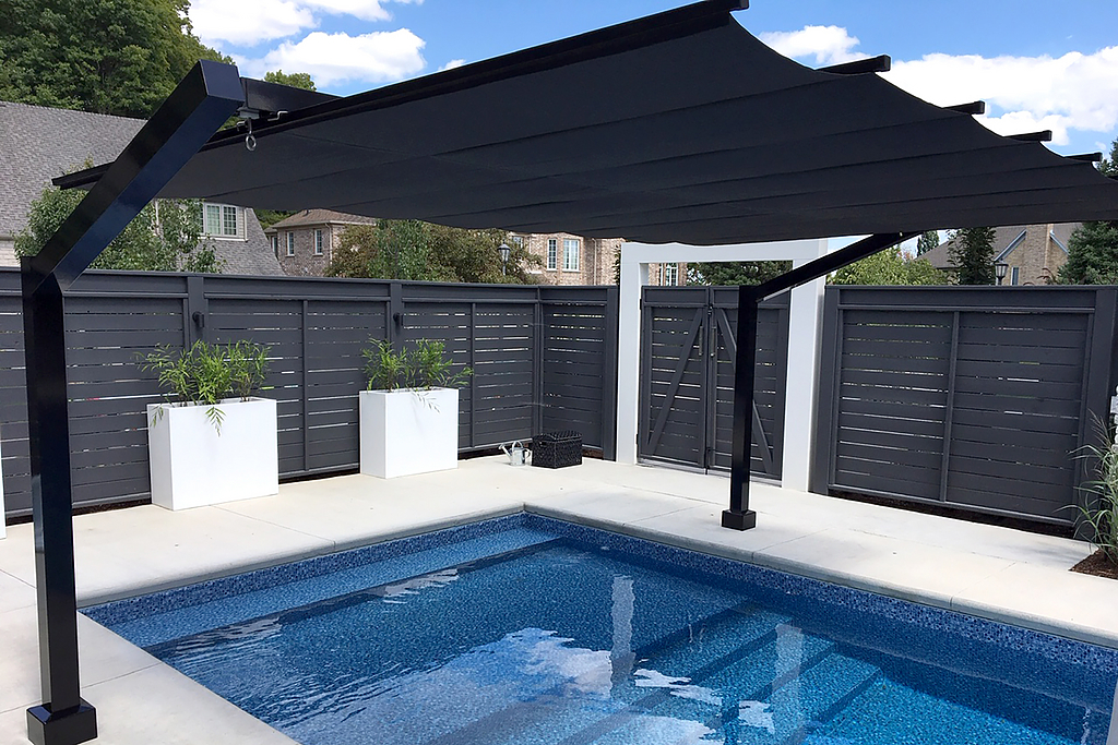 Shade Structure – Freestanding Canopy in Waterloo