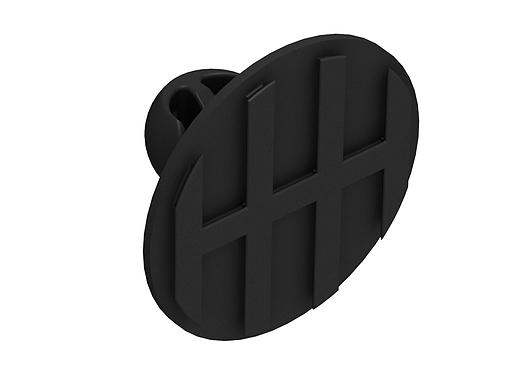 PC-SM2H Fixadores oculto para painéis pesados - Linha Standard | Fastmount