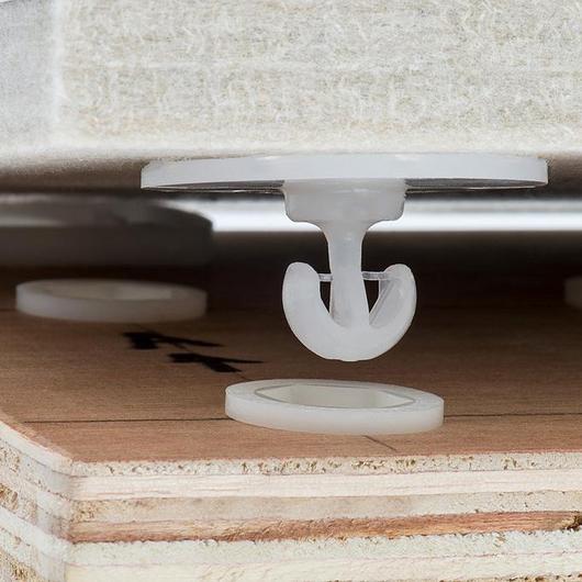 Fixador  oculto para painéis acústico - Linha Standard