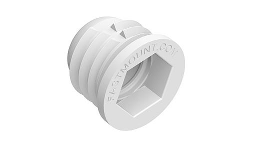 PC-F1A | Fixador oculto para painéis acústico - Linha Standard | Fastmount