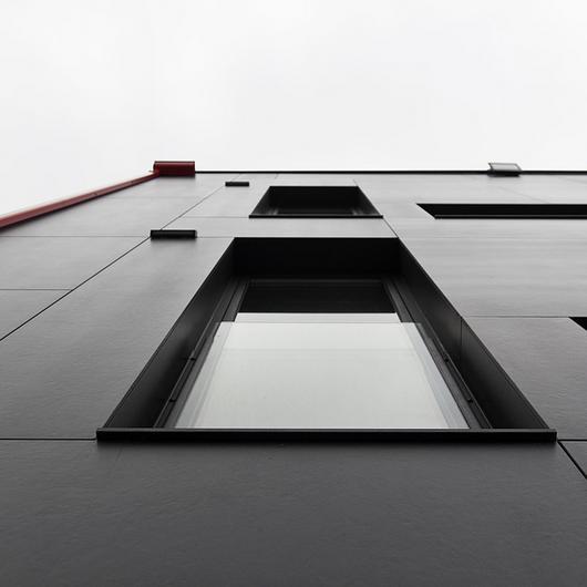 Dekton ventilated façade in Arteixo Home