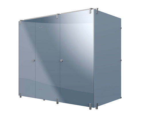 Bradley Corp | Euro Partition | Lucent Series