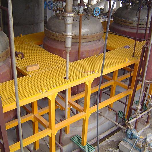 Parrilla FRP para usos industriales / DVP