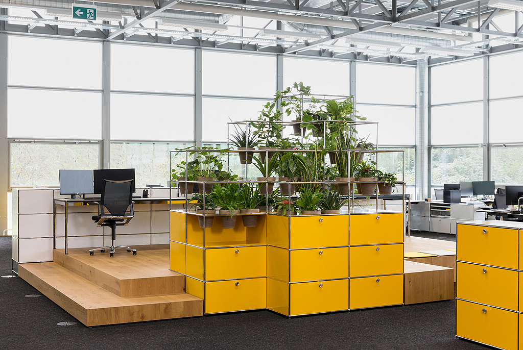 Modular Furniture With Planters - Haller