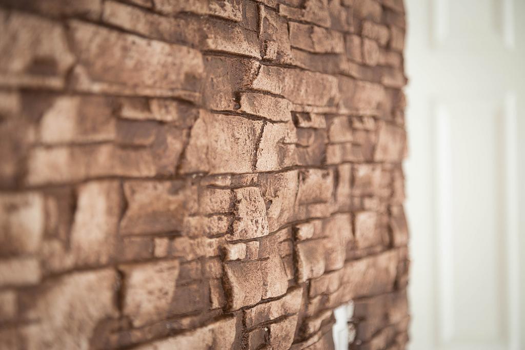 Plaka decorativa tipo piedra Wall Rock
