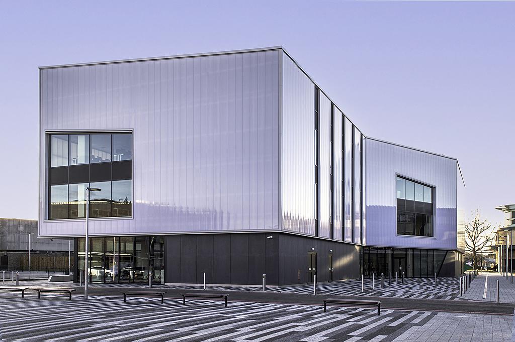 Translucent Building Elements in Basildon Campus