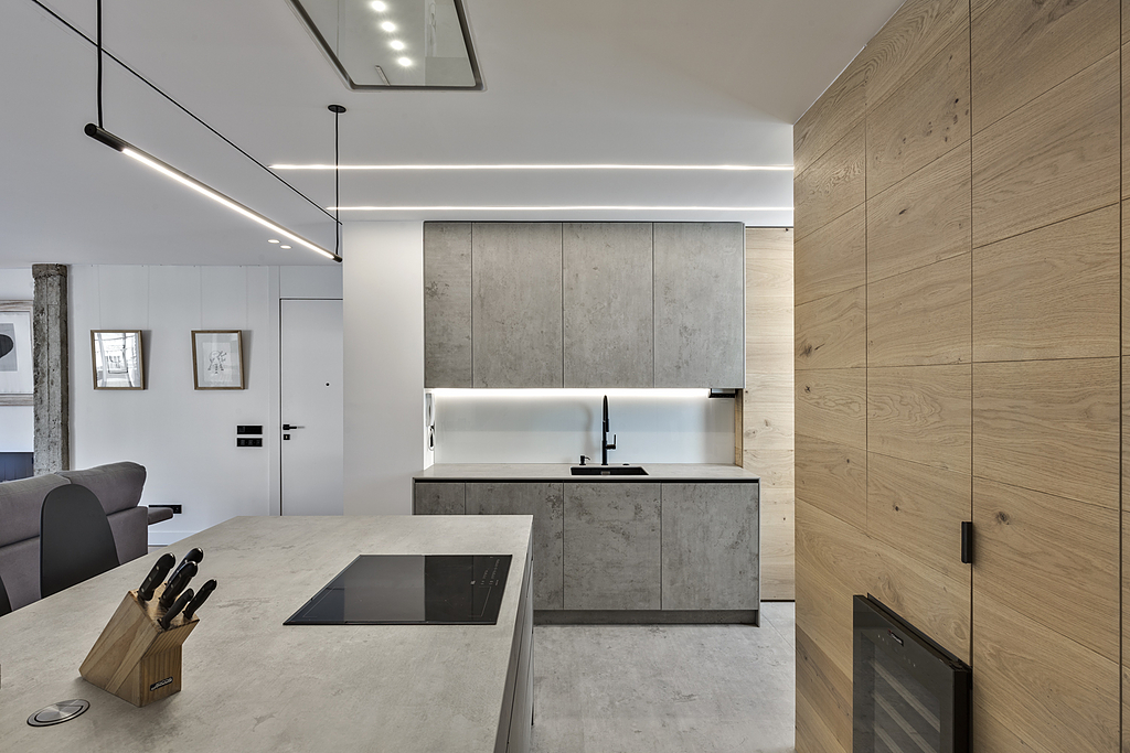 Neolith in Madrid Apartment