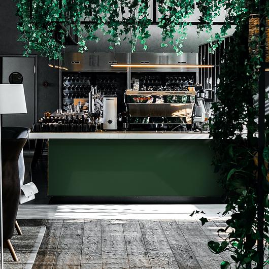 Solid Surfaces Staron®- Deep Green and Blue