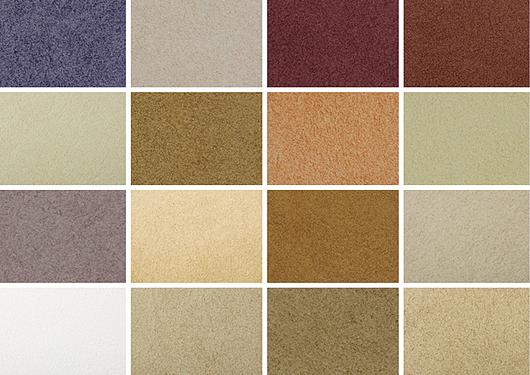 Cores | Textura acrílicas para revestimento de paredes Sabbiato | Terracor