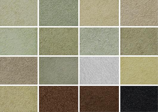 CORES | Textura acrílica para revestimento de paredes STONE | Terracor