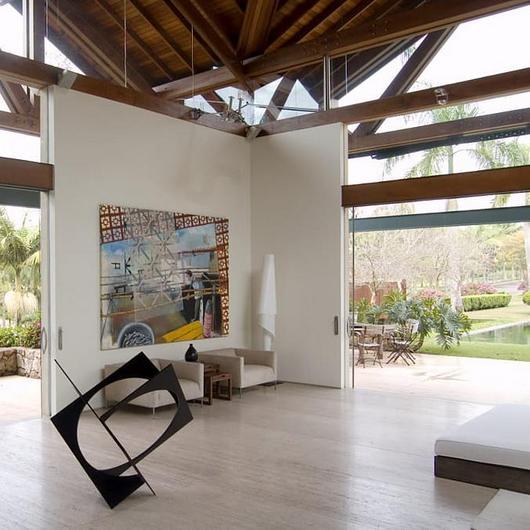 Textura acrílica Stuccato na Casa Cotia
