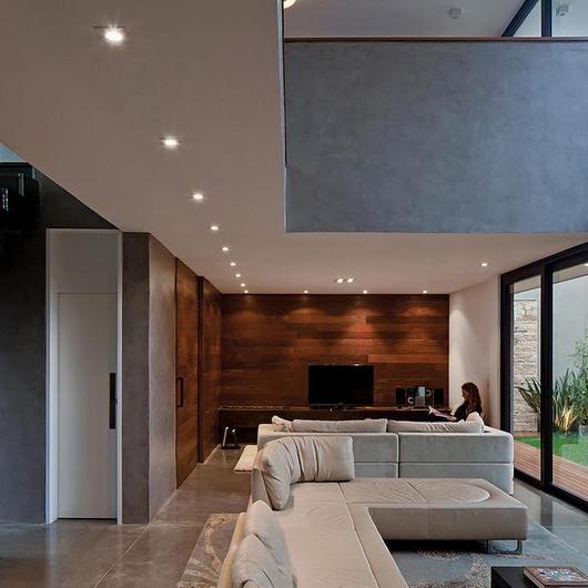 Textura acrílica Cimento Queimado na Casa Vila Madalena