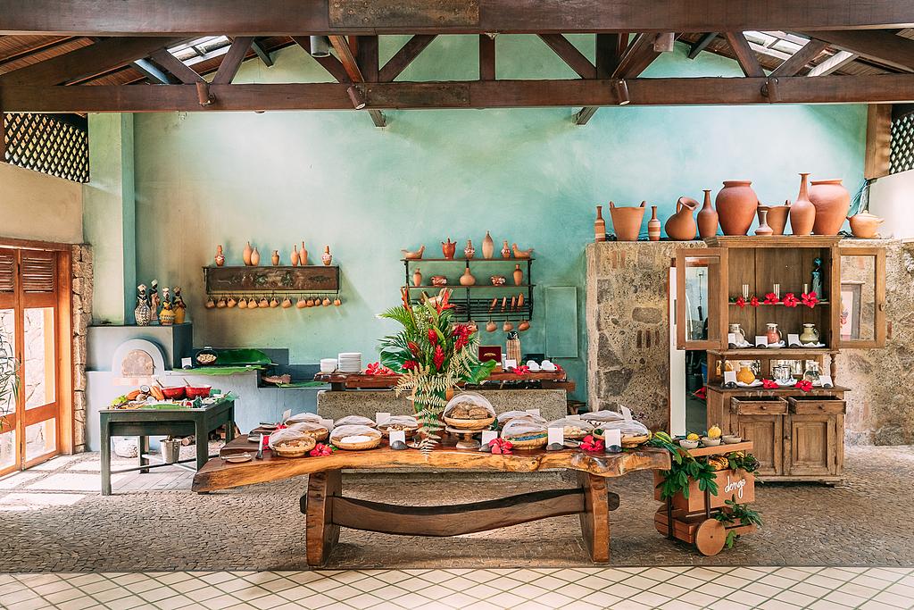 Textura acrílica Terracal, Originale e Sabbiato no Txai Itacaré