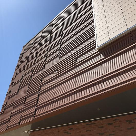 Custom Shape Terracotta Cladding