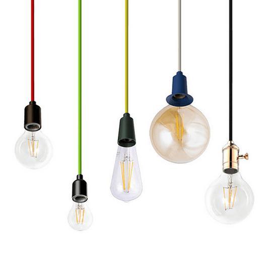 Pendant Lights - Decorative Socket Pendant /  Spectrum Lighting