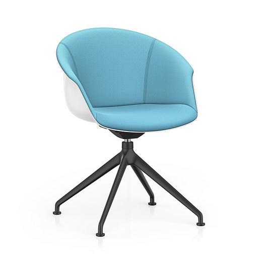 Lounge Chair - SHUFFLEis1 Star Base / Interstuhl