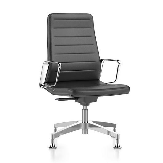 Conference Chair - High  With Castors / Interstuhl