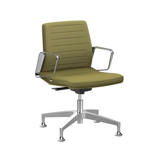 Conference Chair - Low  With Castors / Interstuhl