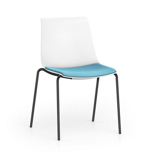 Visitor Chair - SHUFFLEis1 Metal Legs / Interstuhl