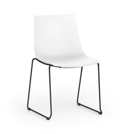 Visitor Chair - SHUFFLEis1 2 Legs / Interstuhl