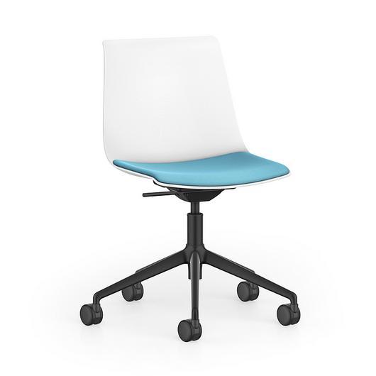 Visitor Chair - SHUFFLEis1 Swivel / Interstuhl