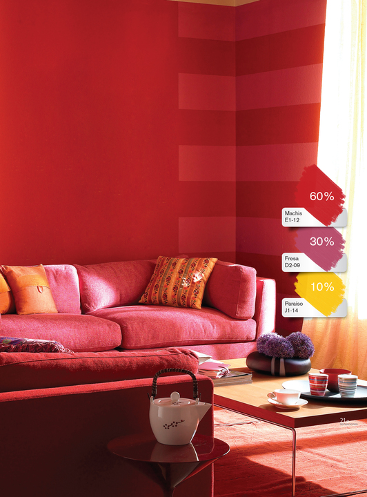 Pintura vinil acr lica vinimex de comex for Muestra de colores de pintura para interiores