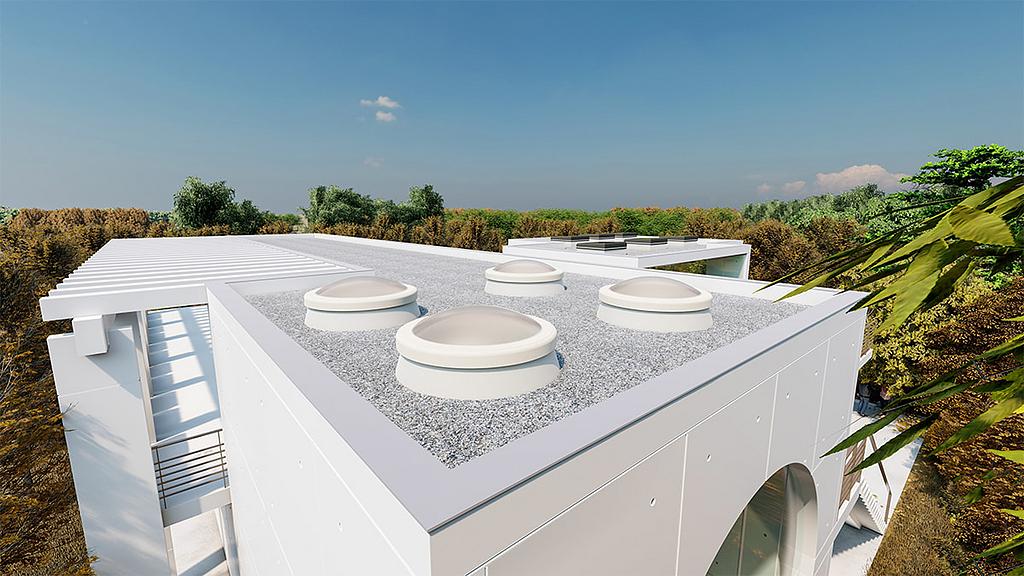 Rooflight F100 Circular